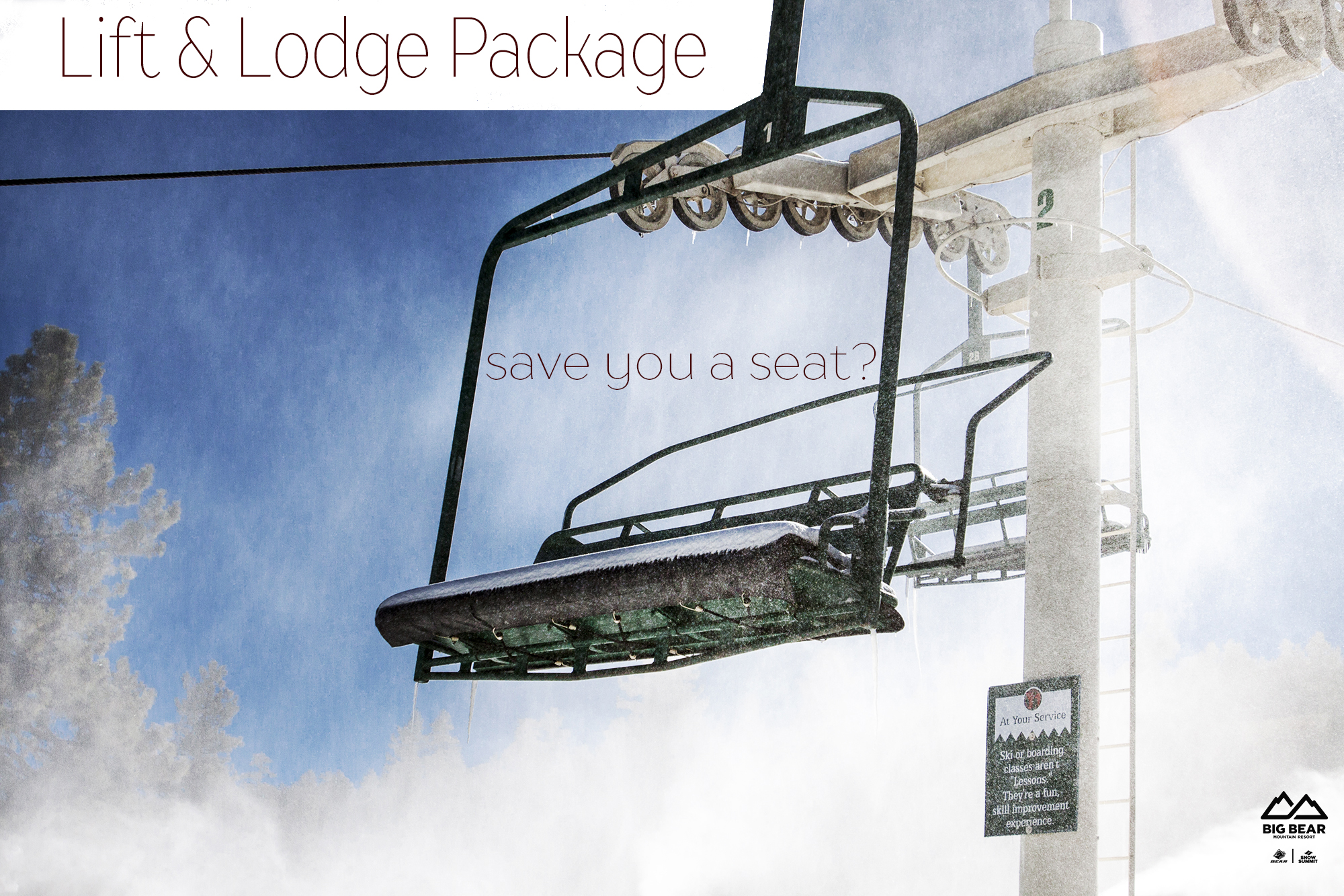 Repeat Guests, We KNOW You Don\'t Want A Free Lift Ticket! (please ...