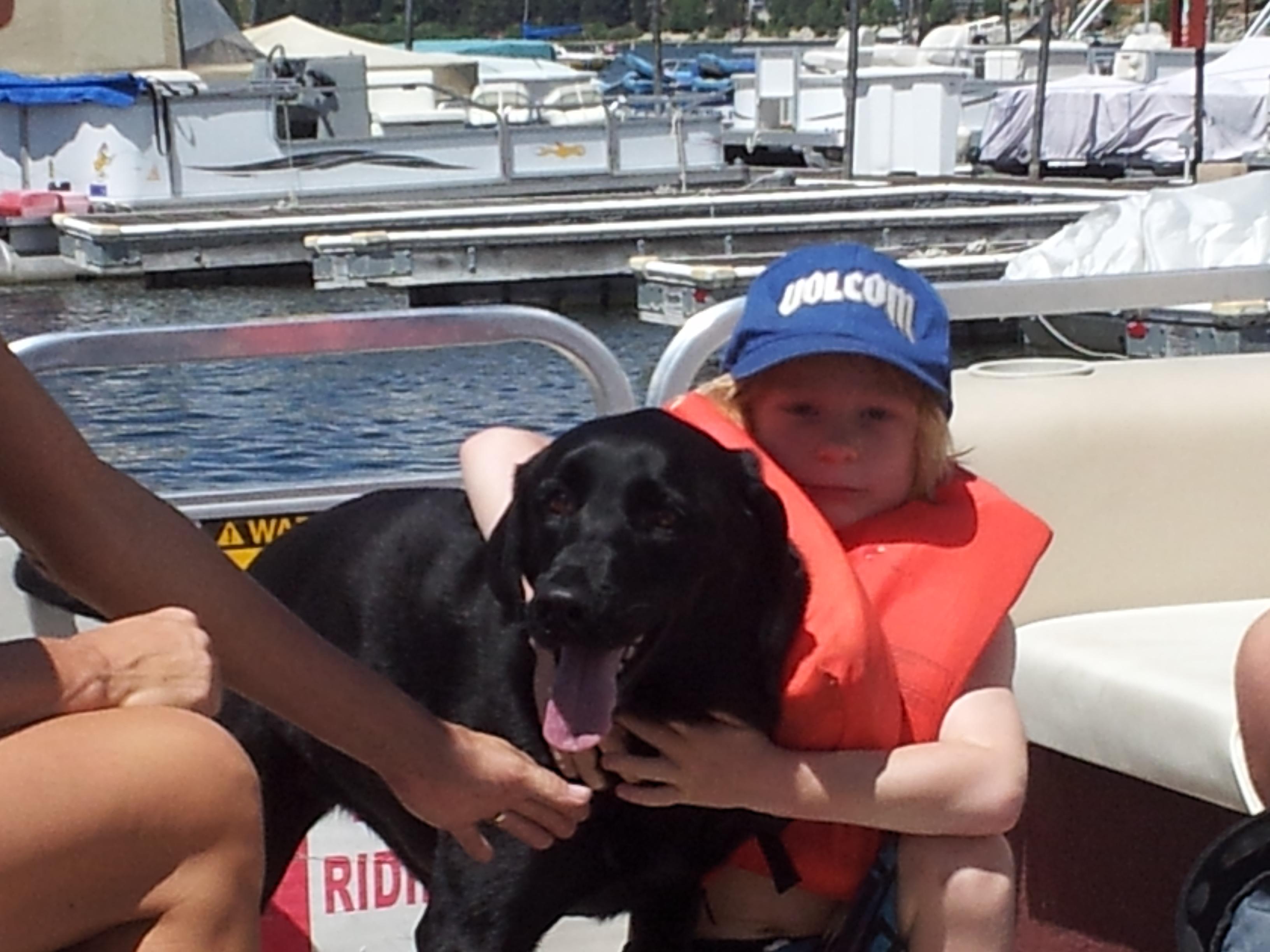 Big Bear Lake Boat Ride