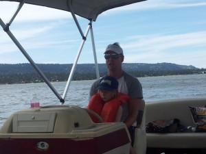 Fun on Big Bear Lake