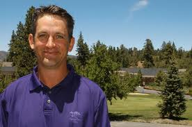 Dallas Goldsmith PGA pro at Big Bear golfcourse