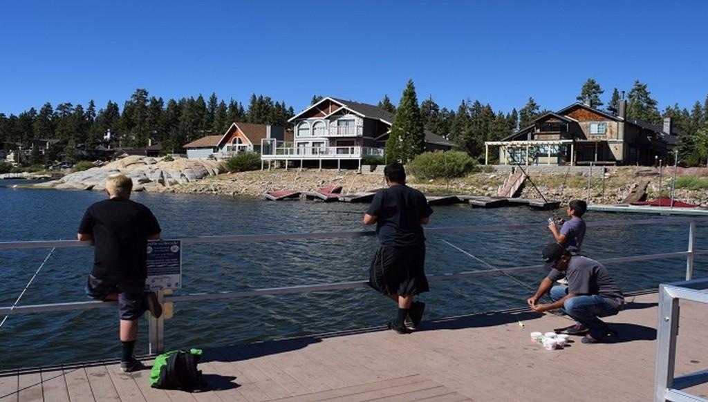 Boating and Fishing in Big Bear Lake
