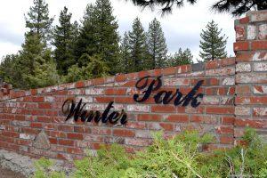 Winter Park in Big Bear Lake