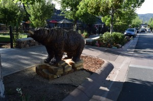 Big Bear Animal Carving in The Village