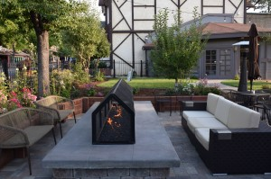Fireside dining at 572 Social Kitchen in Big Bear