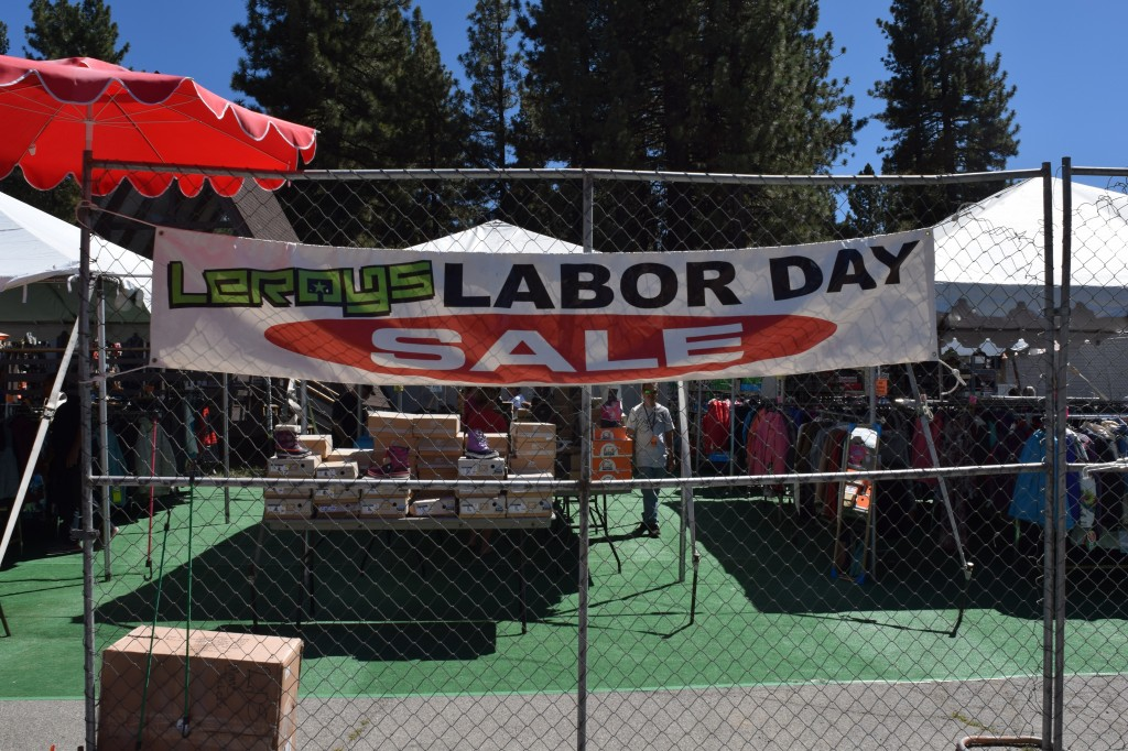 Leroy's Labor Day Sale in Big Bear