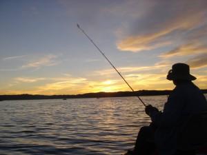 Fishing in Big Bear