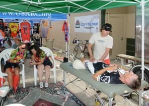 Massage at Tour de Big Bear