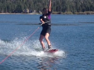 Wakeboard at Captain John's in Big Bear Lake