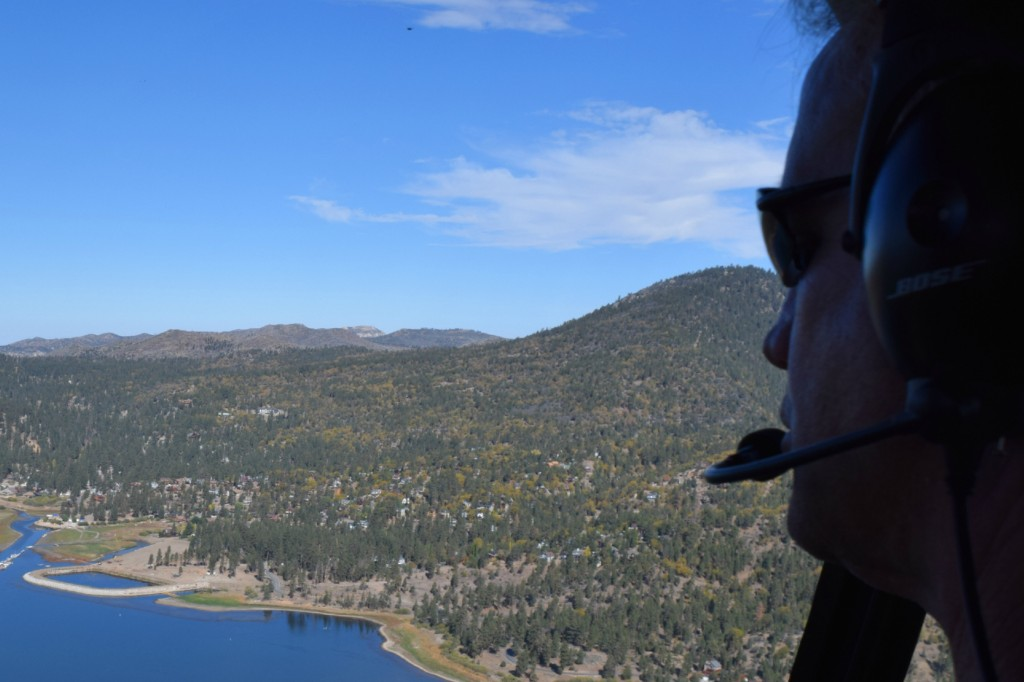 Helicopter Ride Big Bear Lake