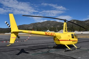 Helicopter in Big Bear