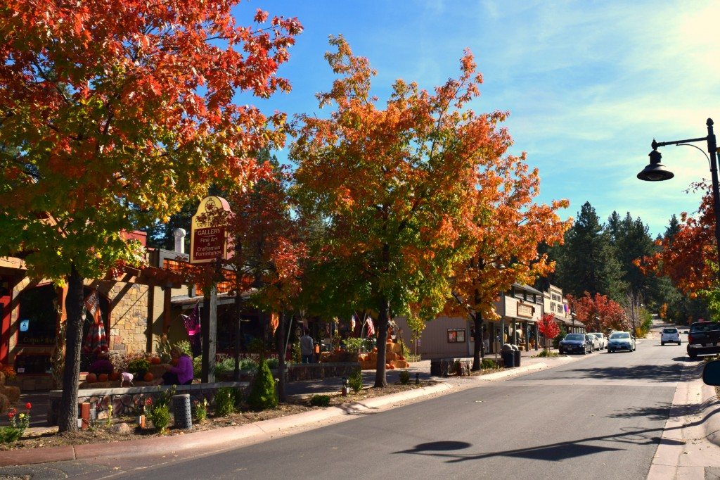 Fall in the Village