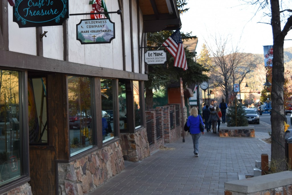 shopping in Big Bear Lake