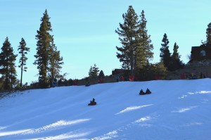 Tubing in Big Bear Lake