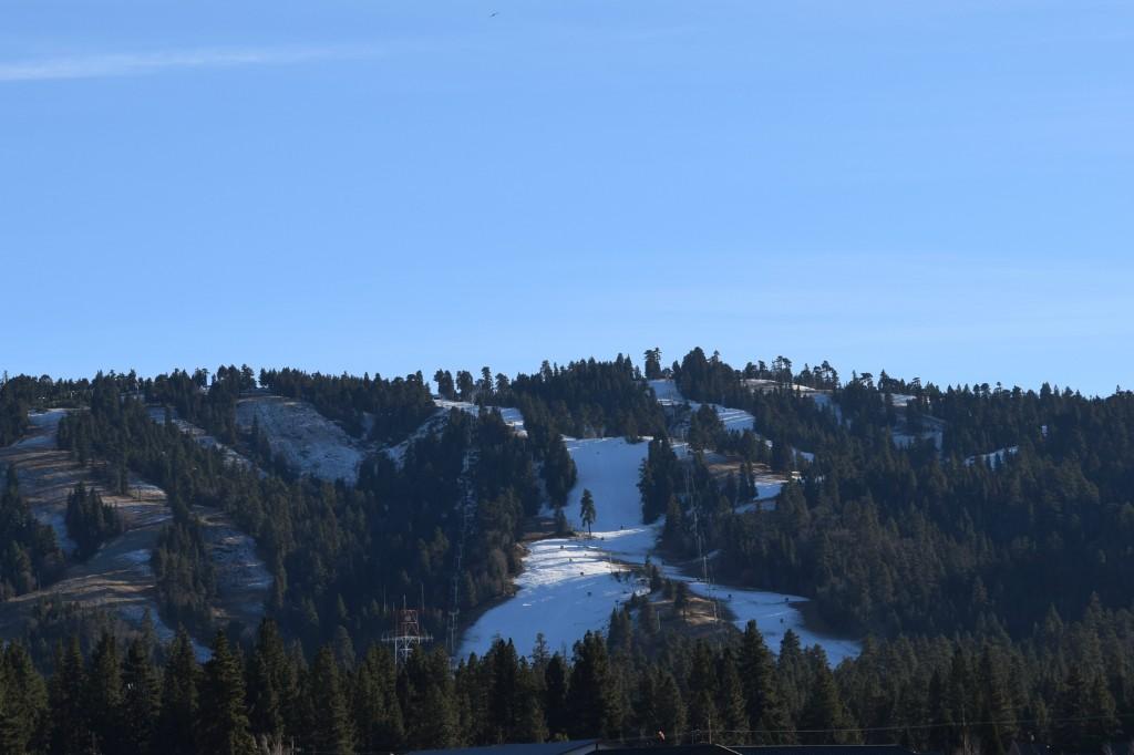 Winter has started in Big Bear Lake!