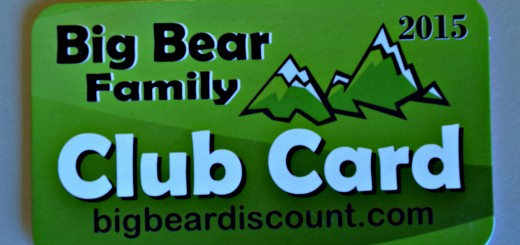 Big Bear Discount Card
