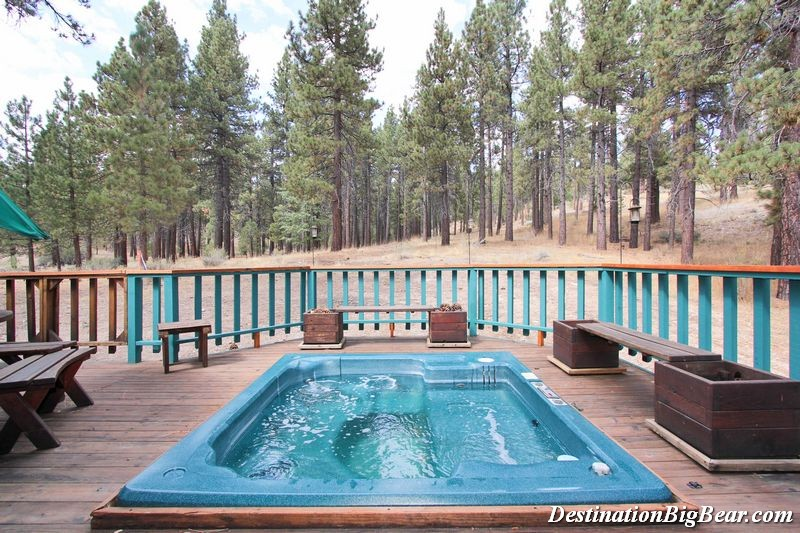 stay at a big bear lake cabin rental with a hot tub