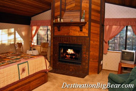 Big Bear Lake Bedroom Before