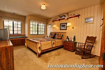 Vacation rental bedroom before