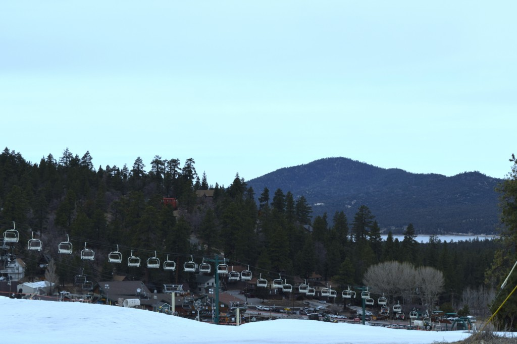 winter activities in big bear