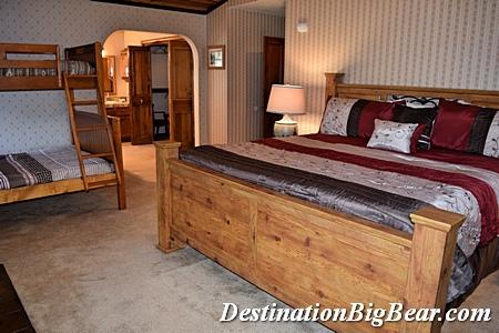 Master suite in Big Bear Lake vacation rental