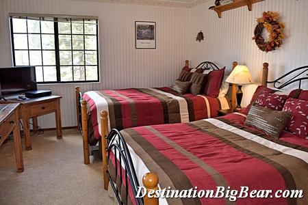 bedroom in Big Bear lake vacation rental