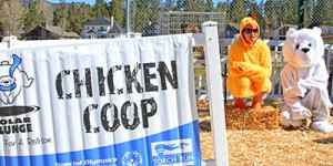 Chicken Coop at the Polar Plunge