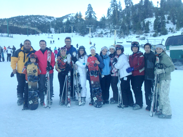Family Reunion in Big Bear Lake
