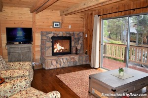 Big Bear Lake cabin rental near Swim Beach