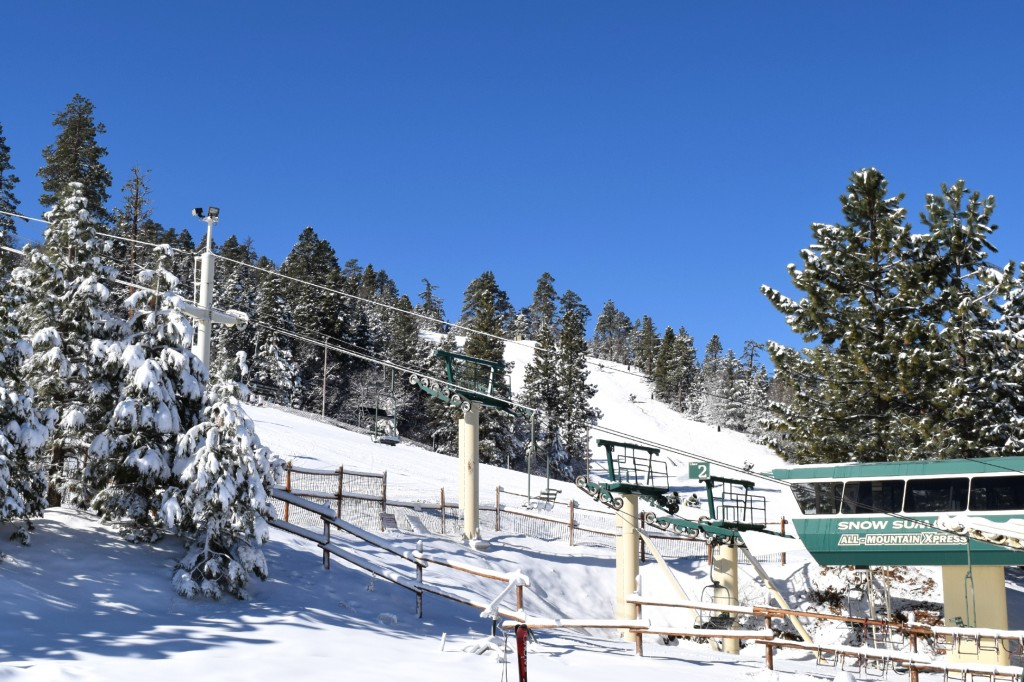Snow Summit Resort in Big Bear Lake