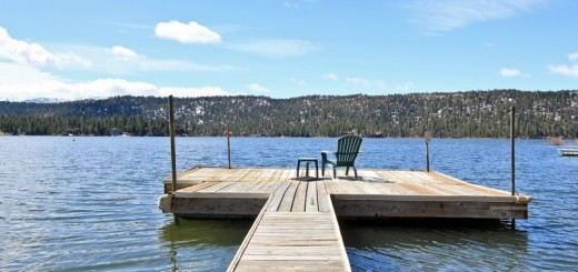 Stay on Big Bear Lake.