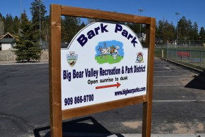 Bark Park in Big Bear Lake