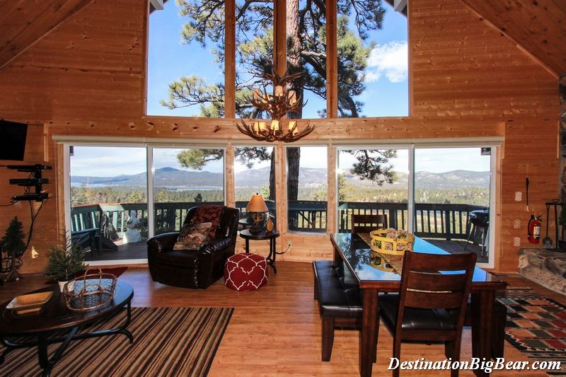 cabin rentals in big bear lake california