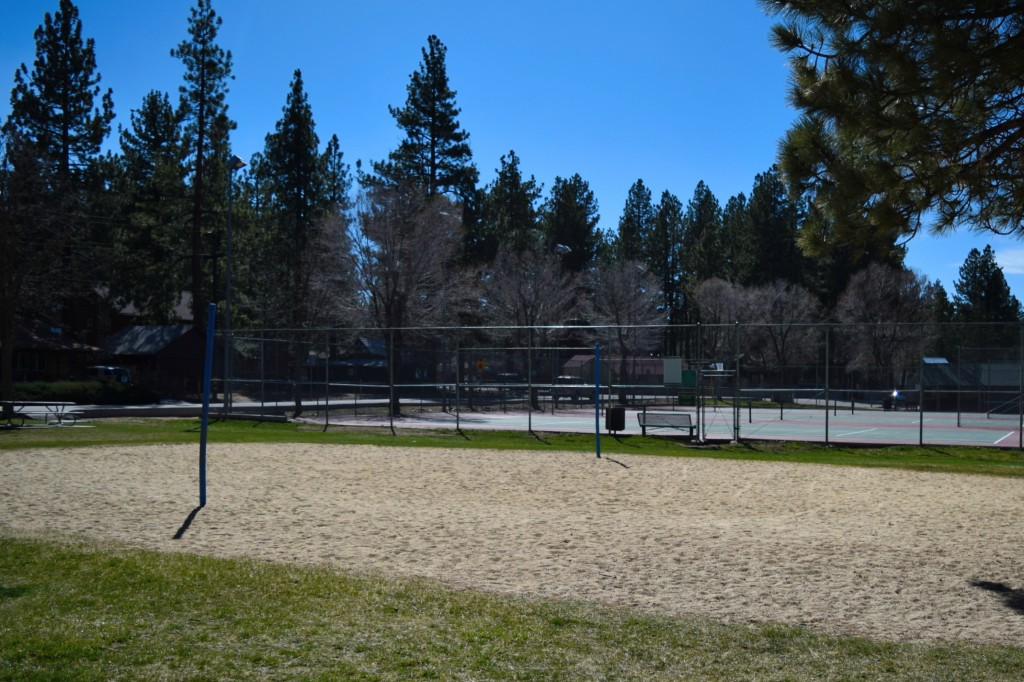 Tennis and Volleyball at Meadow Park in Big Bear Lake