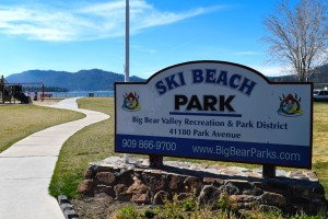 Ski Beach in Big Bear Lake