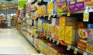 Grocery shopping in Big Bear Lake