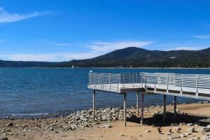 Lake Views from Ski Beach in Big Bear Lake