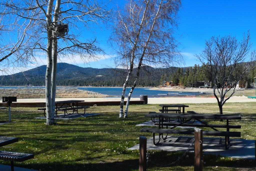 Swim Beach in Big Bear Lake