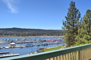 Marina Landing lakefront cabin rental in Big Bear Lake