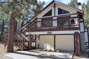 Big Bear pet friendly cabin rental
