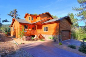 luxury pet friendly cabin rental in Big Bear lake