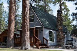 Big Bear cabin rental Blue Lagoon