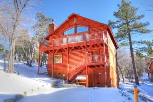 pet friendly cabin rental in Big Bear Lake