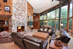 Hawks View cabin rental in Big Bear Lake