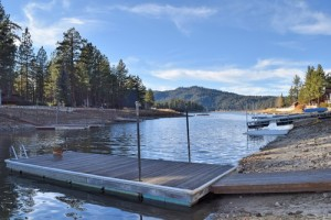 Lagunita Shores lakefront cabin rental in Big Bear lake