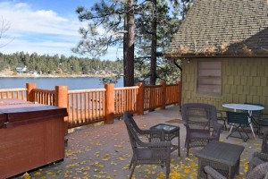lakefront cabin rental in Big Bear Lake