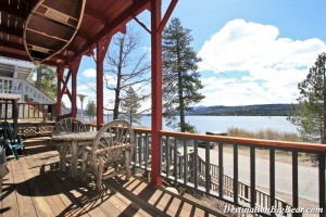 Tippie Canoe- lakefront cabin rental in Big Bear Lake