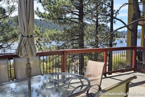 Boulder Birdhouse- Big Bear Lake lakefront cabin rental