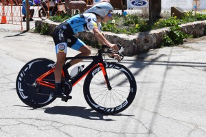 Cycling in Big Bear Lake at the Redlands Classic
