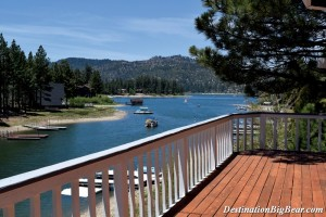 Blue Lagoon- Big Bear Lake lakefront cabin rental