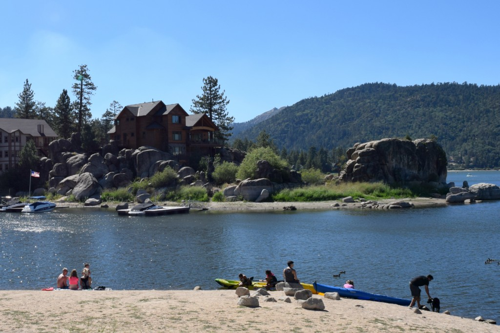 Family vacation in a Big Bear cabin rental